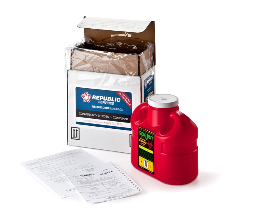 1 Gallon Sharps Mail-Back System