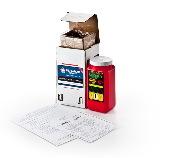 1 Quart Sharps Mail-Back System
